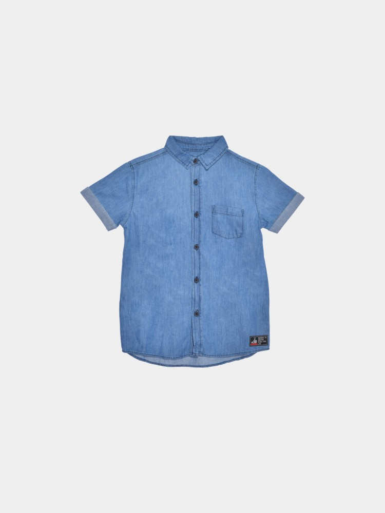 Camisa Mezclilla Cuello Clásico | CCP