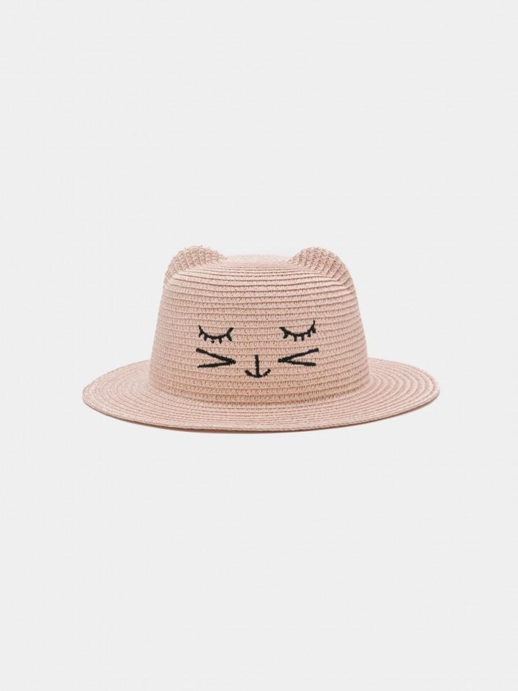 Sombrero de Playa para Niña 'Gato' | CCP