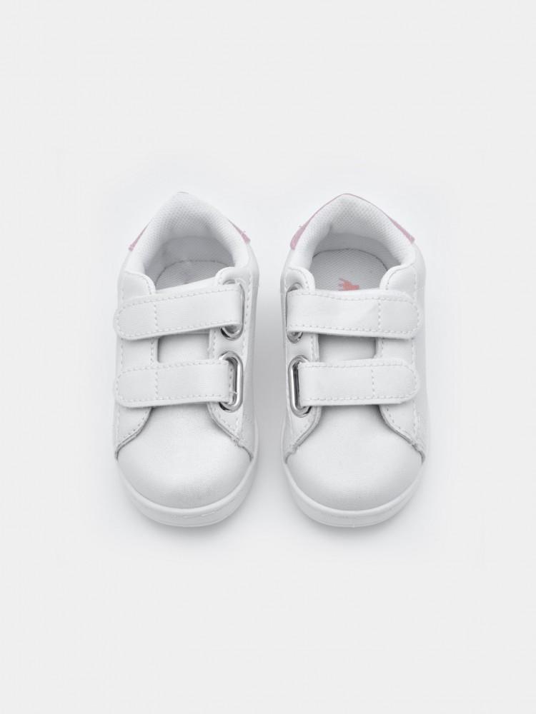 Tenis Blancos Velcro | CCP