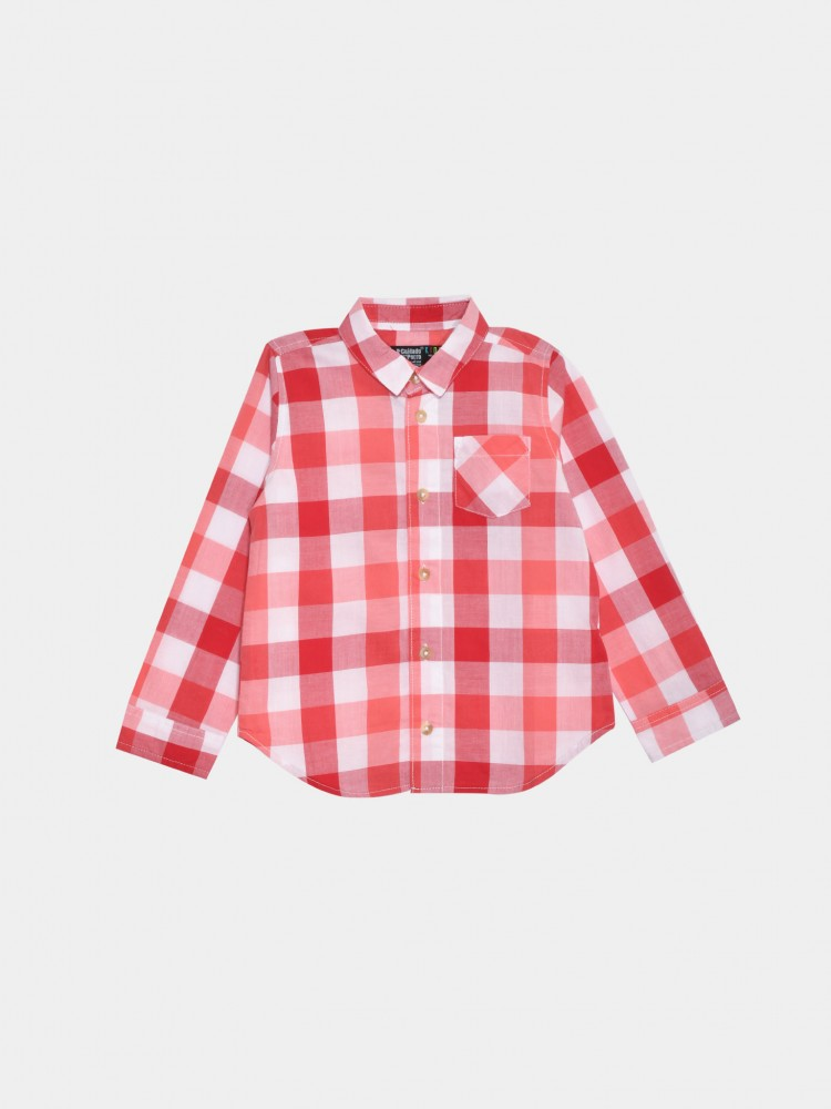 Camisa Cuadros Manga Larga | CCP