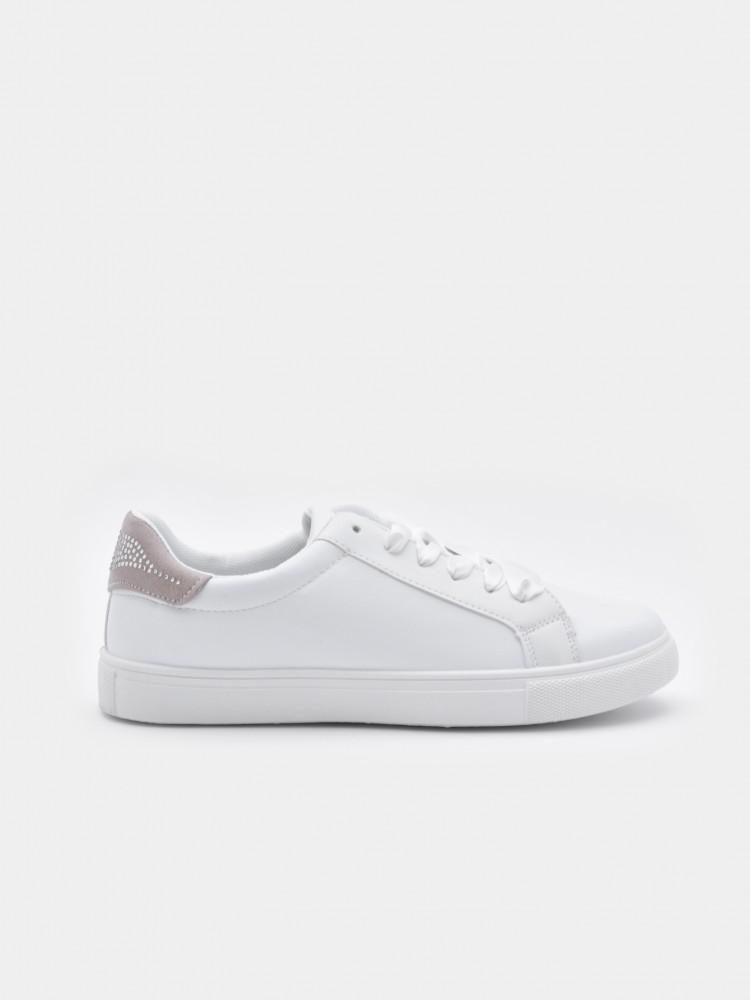 Tenis Blancos con Listón | CCP