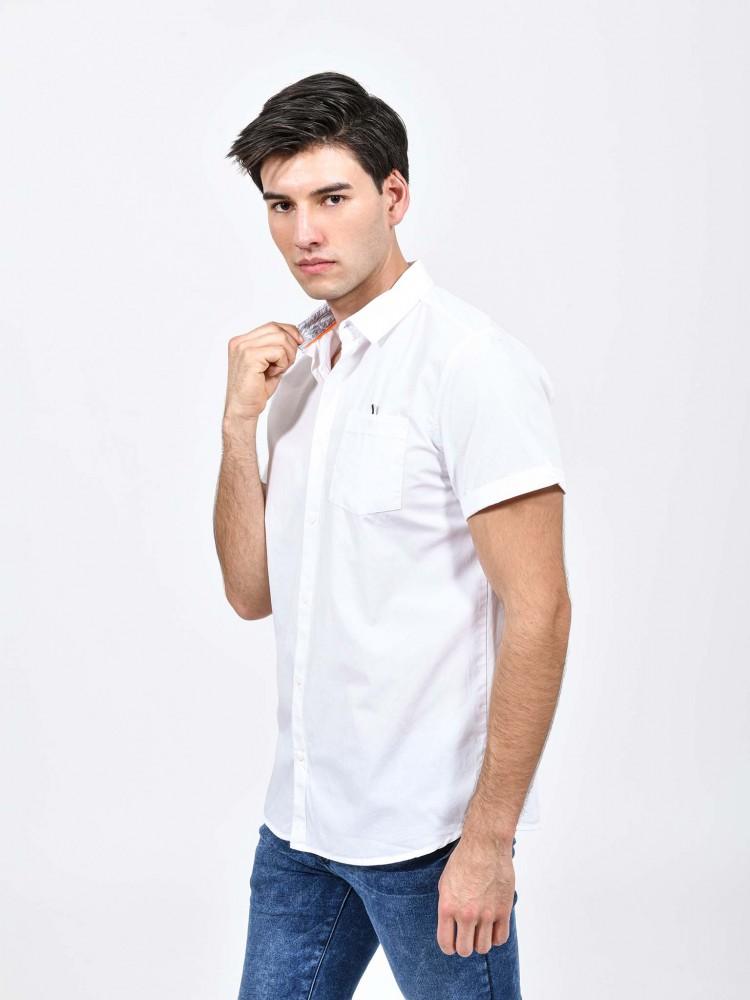 Camisa Blanca Cuello Clásico | CCP