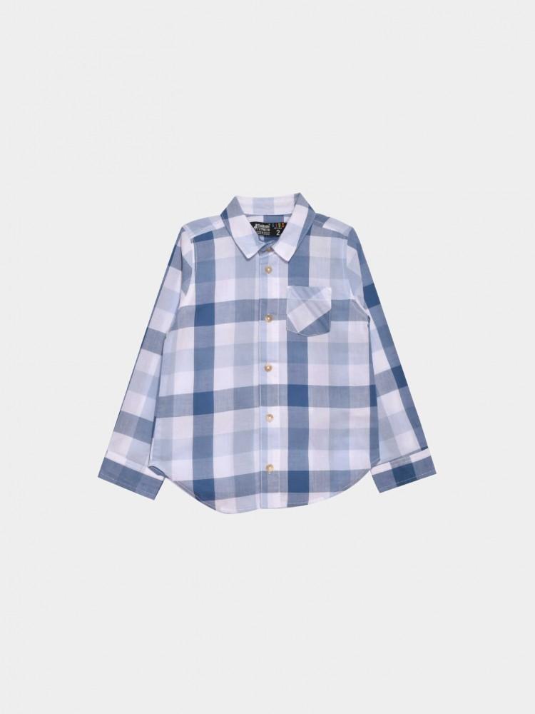 Camisa Cuadros Bolsillo | CCP
