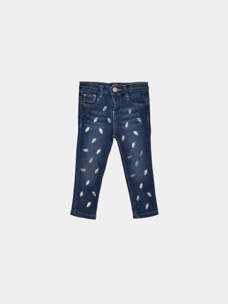 Jeans Regular Print Hojas para Bebé | CCP
