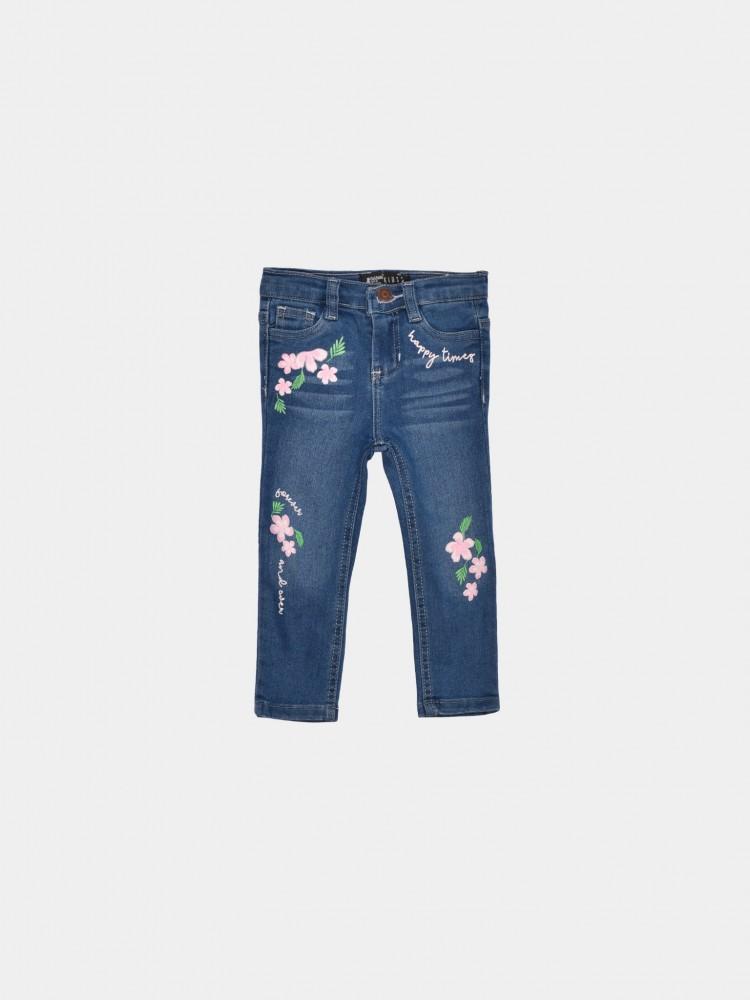 Jeans Estampado Floral para Bebé | CCP