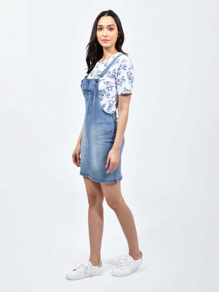 Vestido Overol Denim | CCP