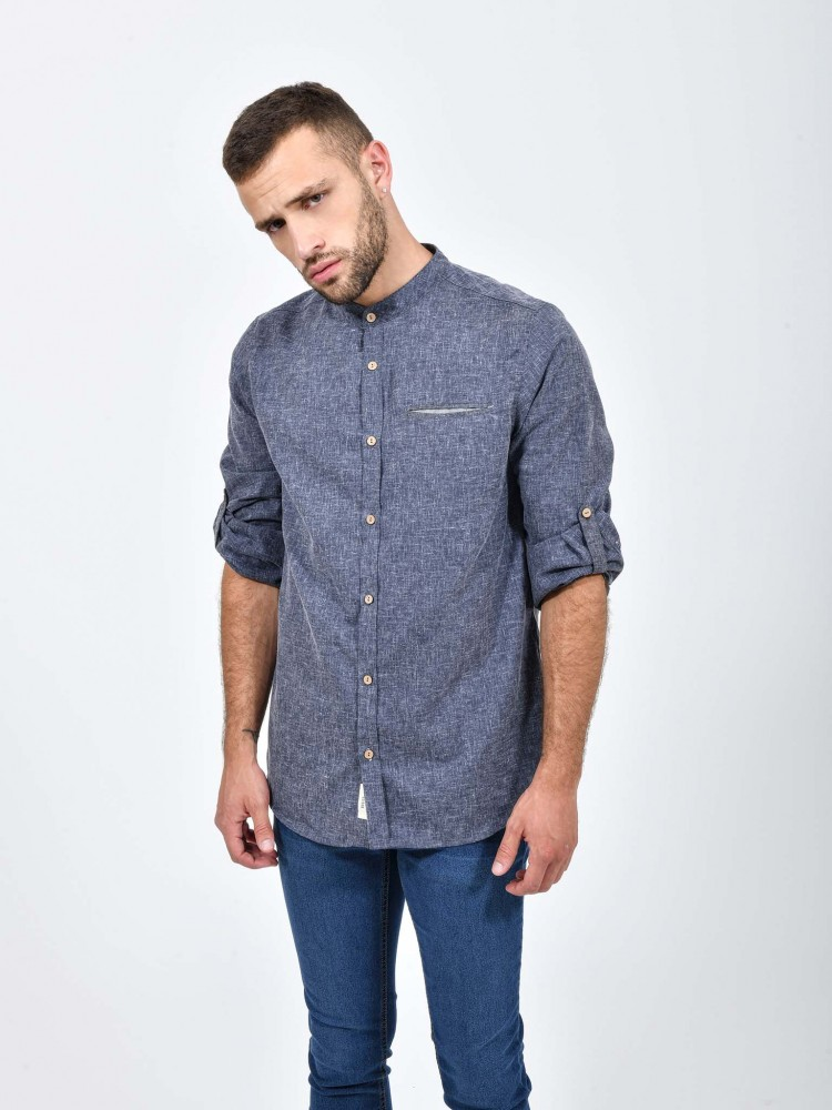 Camisa Bolsillo Manga Larga | CCP