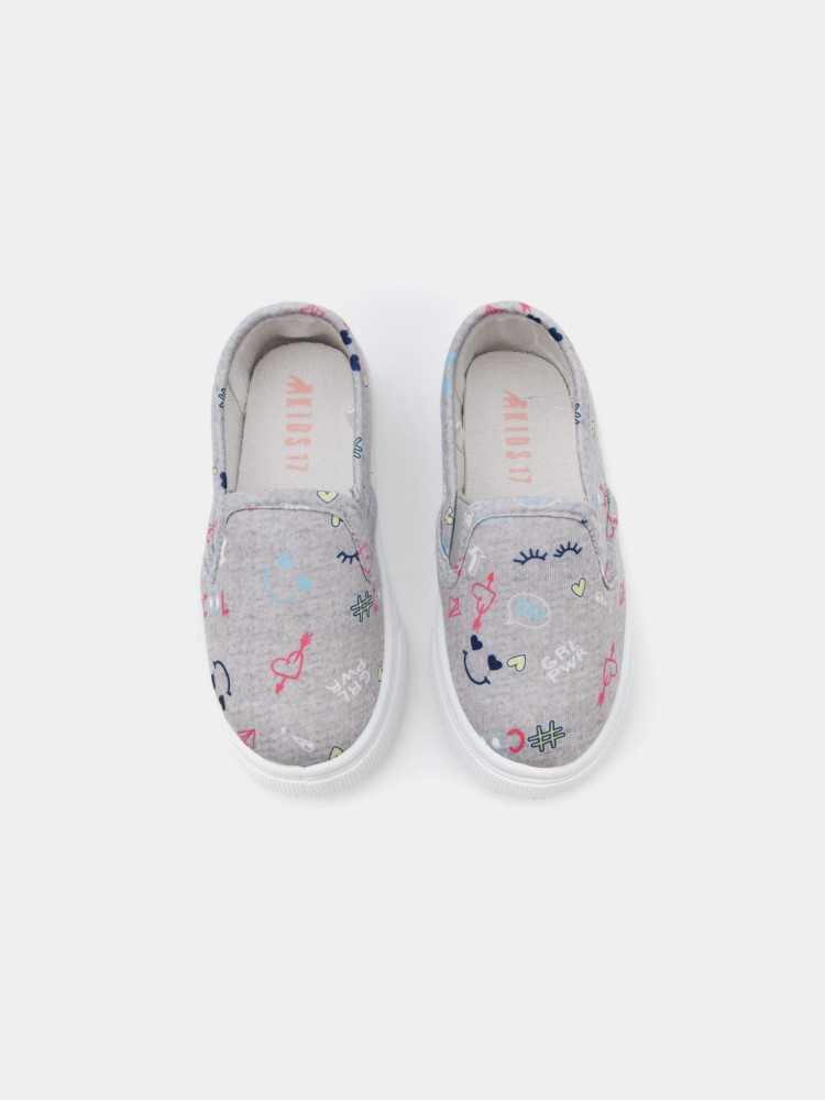 Tenis Slip On Cute para Niña | CCP
