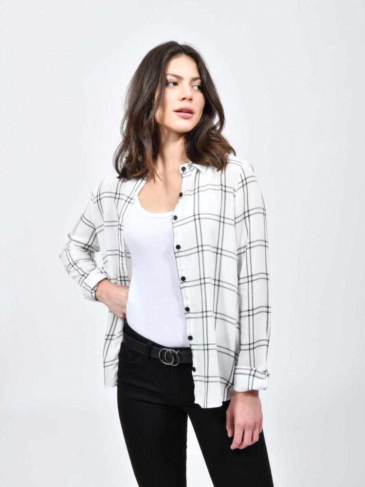 Blusa Camisa Cuadros | CCP