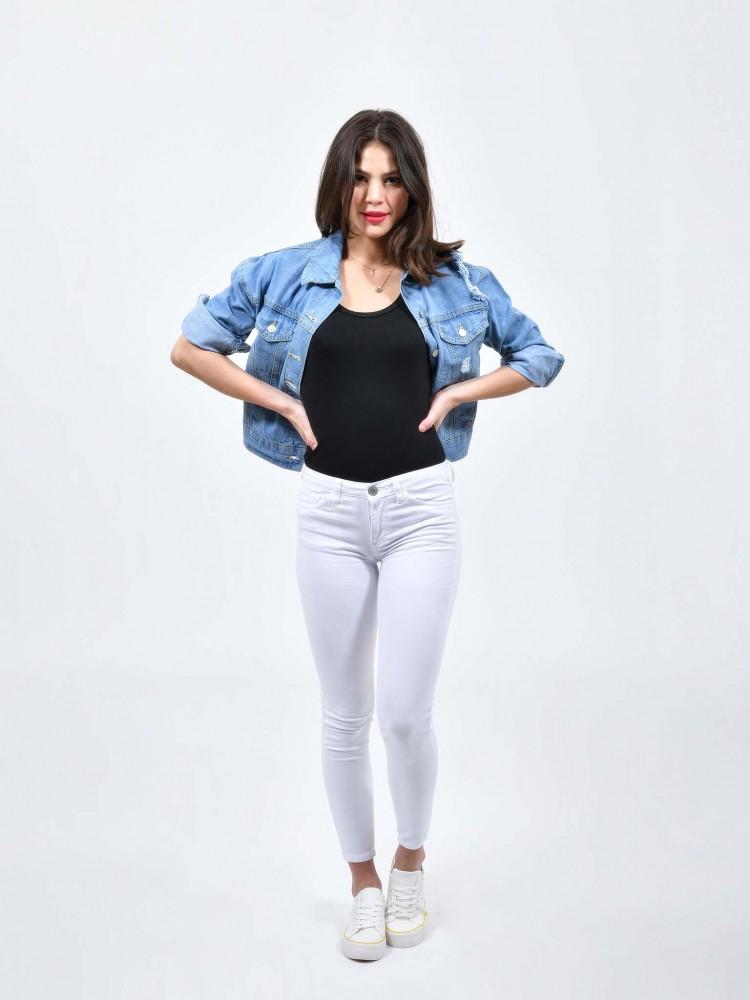 Jeans Skinny Blanco | CCP