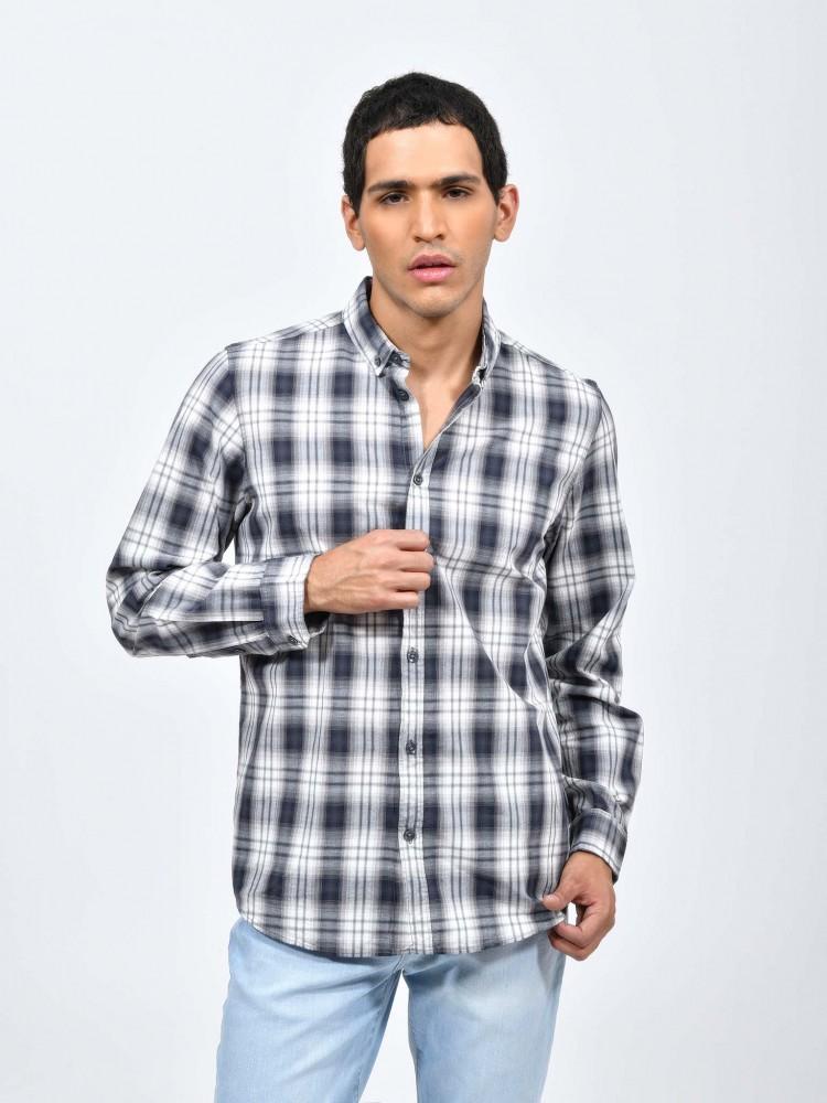 Camisa Cuadros Cuello Clásico | CCP
