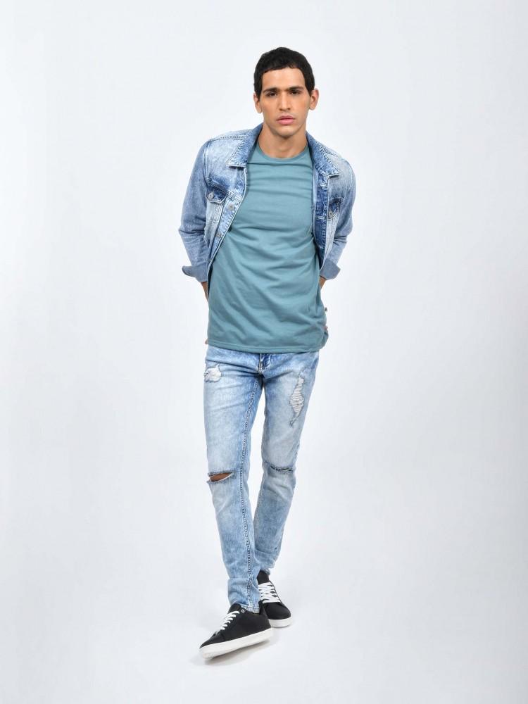 Jeans Regular Destrucciones | CCP
