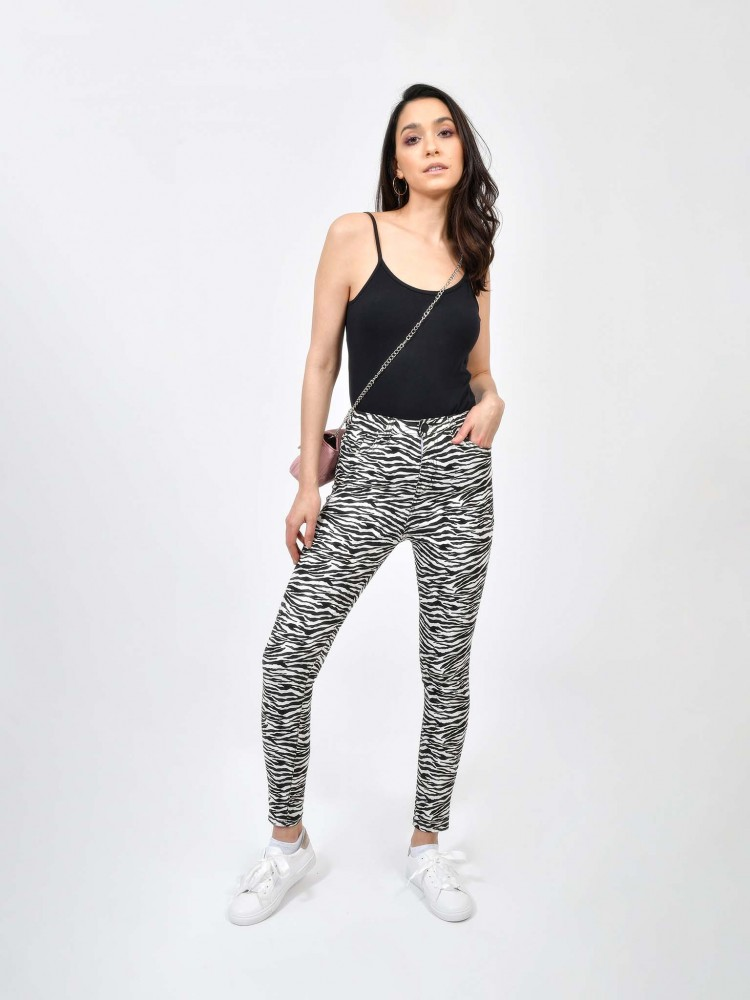 Pantalón Print Cebra | CCP
