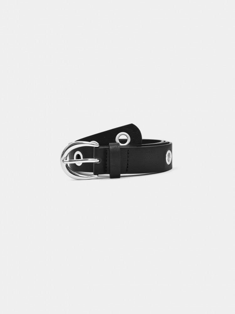 Cinturón Negro con Ojales | CCP