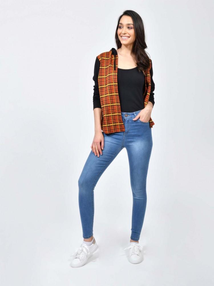 Jeans Skinny Deslavado | CCP