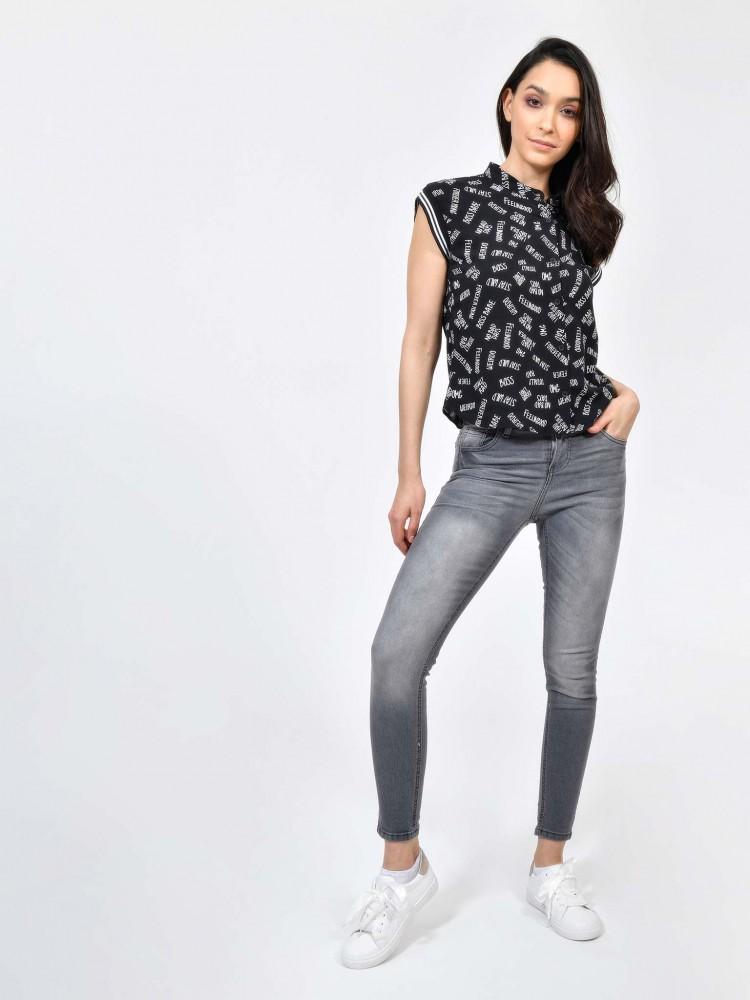 Jeans Skinny Efecto Deslavado | CCP