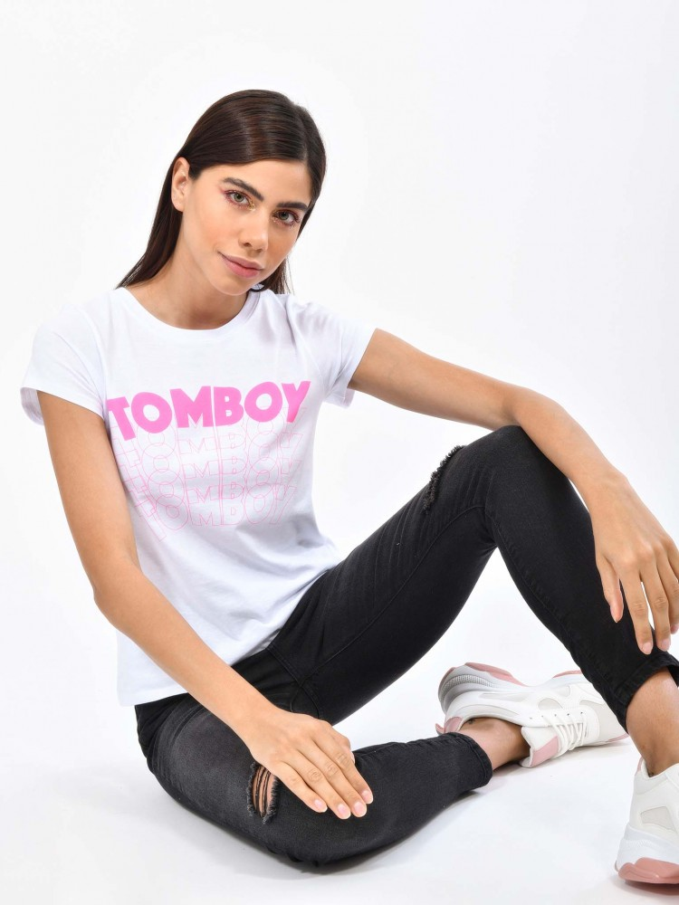 Playera Cuello Redondo 'Tomboy' | CCP