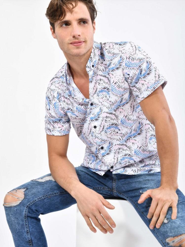 Camisa Tropical Manga Corta | CCP