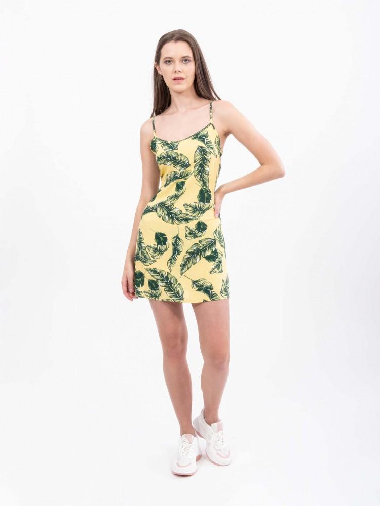 Vestido Corto Print Tropical | CCP