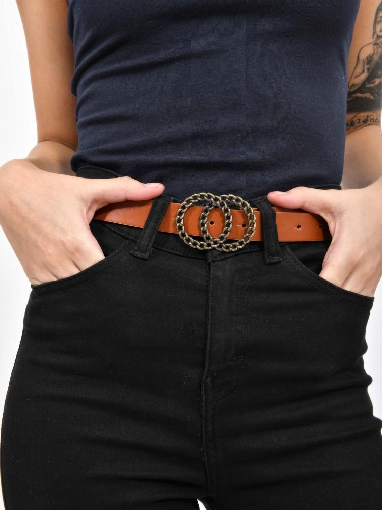 Cinturón Hebilla Doble Círculo | CCP