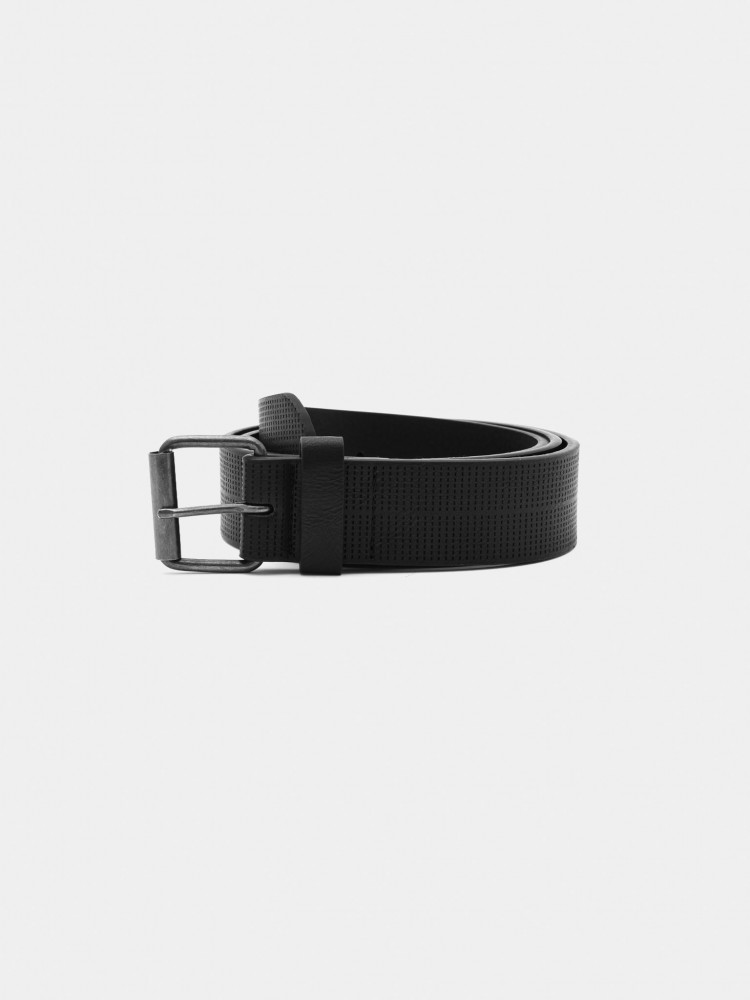 Cinturón Casual Negro con Textura | CCP