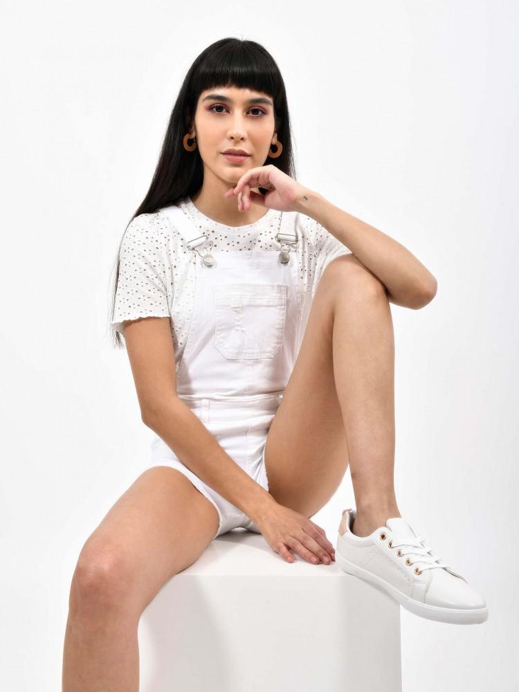 Overol Short Blanco | CCP