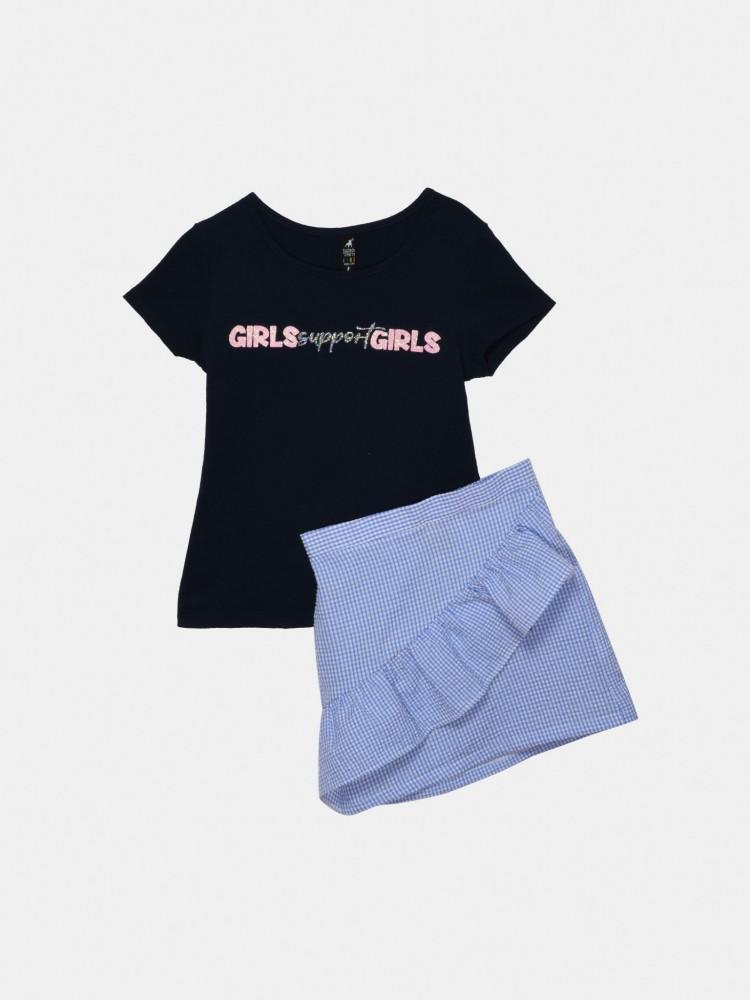 Conjunto Falda 'Girls Support Girls'   CCP