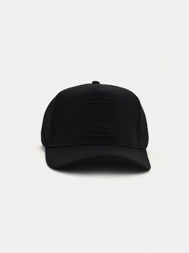 Gorra Negra 'Good Vibes Only' | CCP