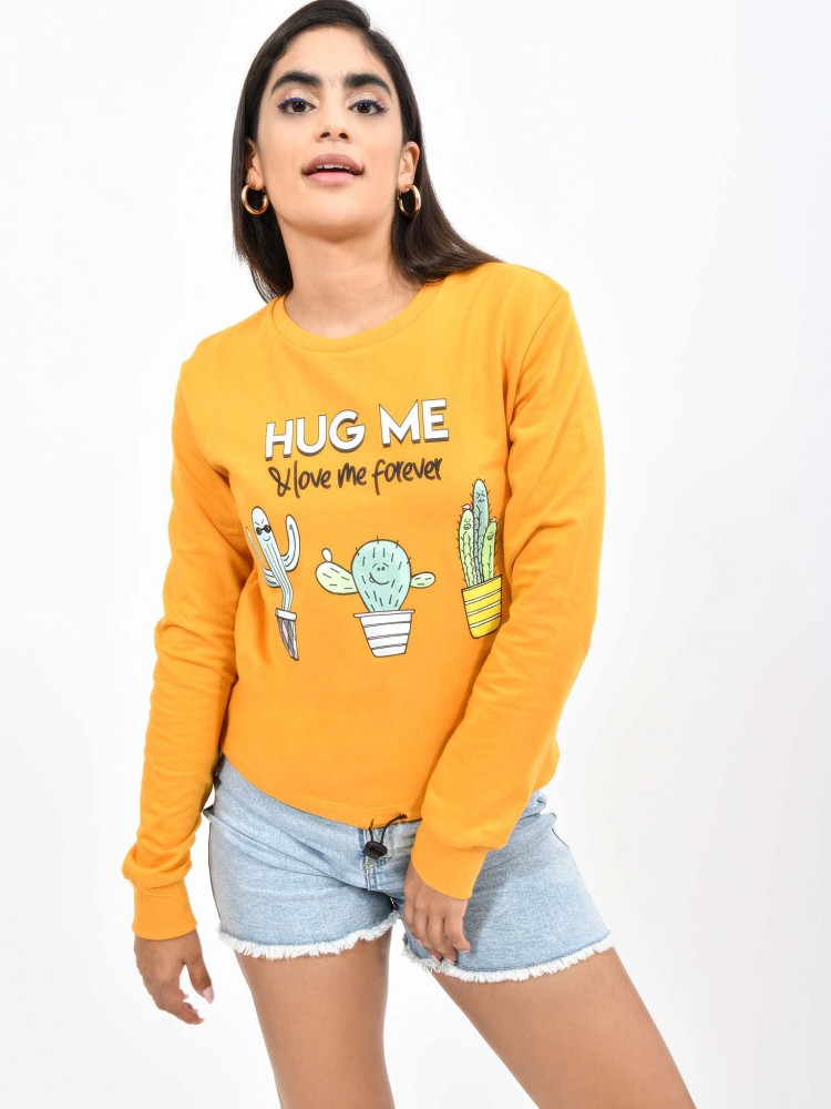 Sudadera Cuello Redondo 'Hug Me' | CCP