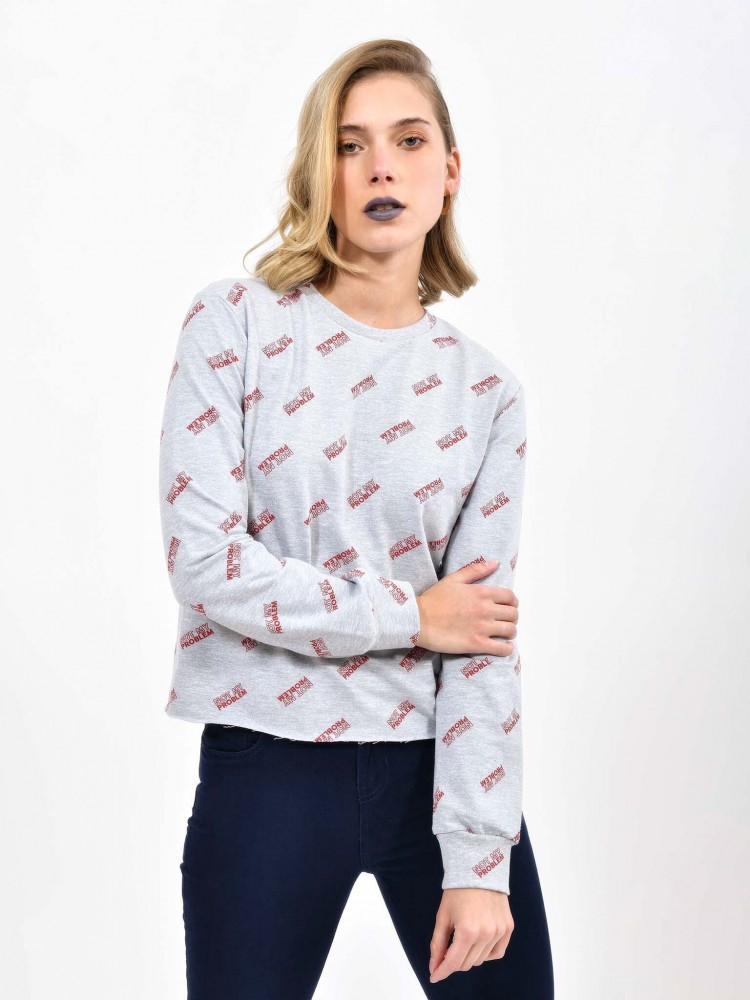Sudadera Cuello Redondo 'Not My Problem' | CCP