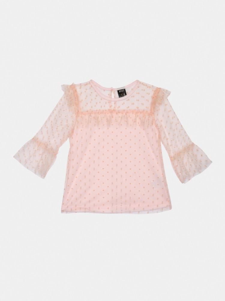 Blusa Rosa de Encaje | CCP