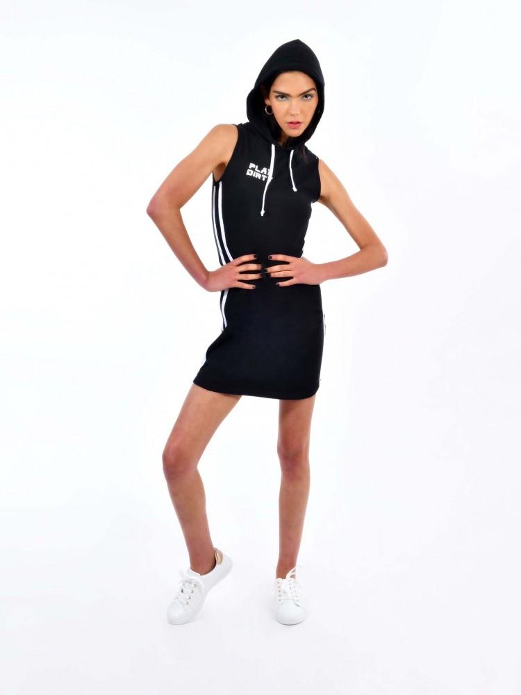 Vestido Negro Tubo Sport | CCP