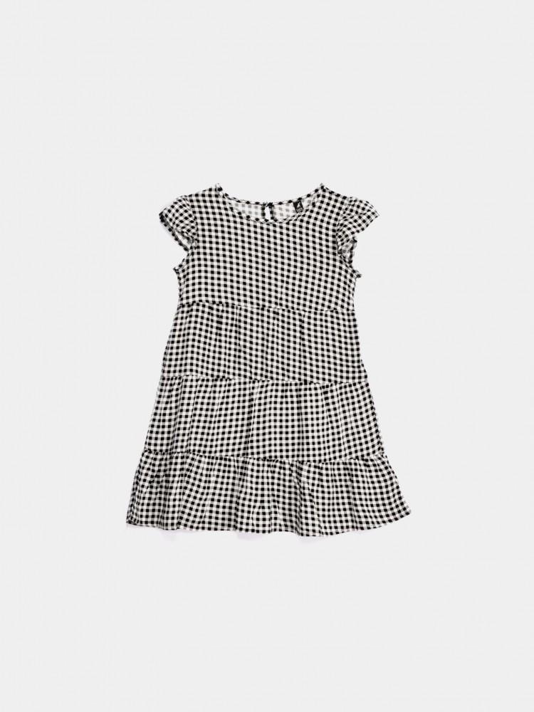 Vestido Casual Diseño Cuadros | CCP