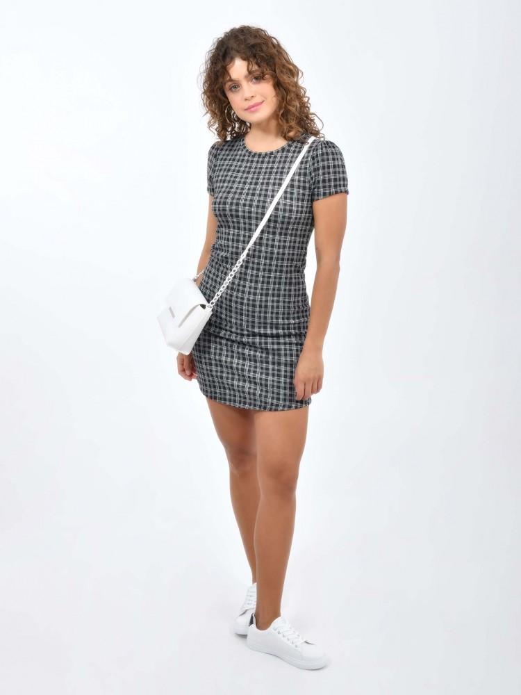 Vestido de Moda Diseño Tartán | CCP