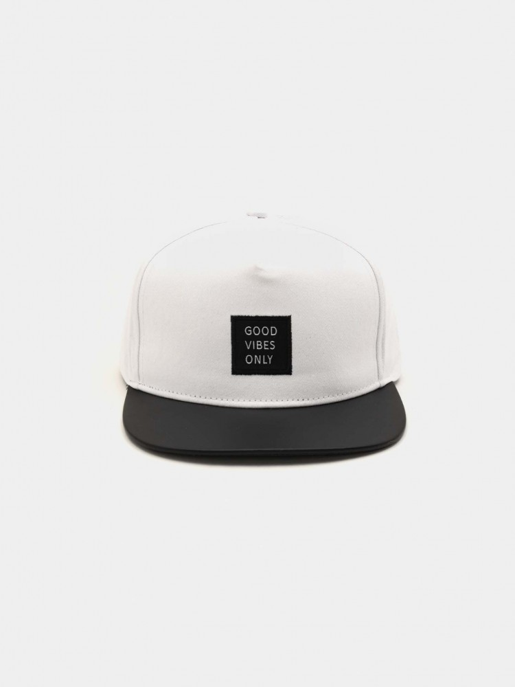 Gorra Blanca 'Good Vibes Only' | CCP