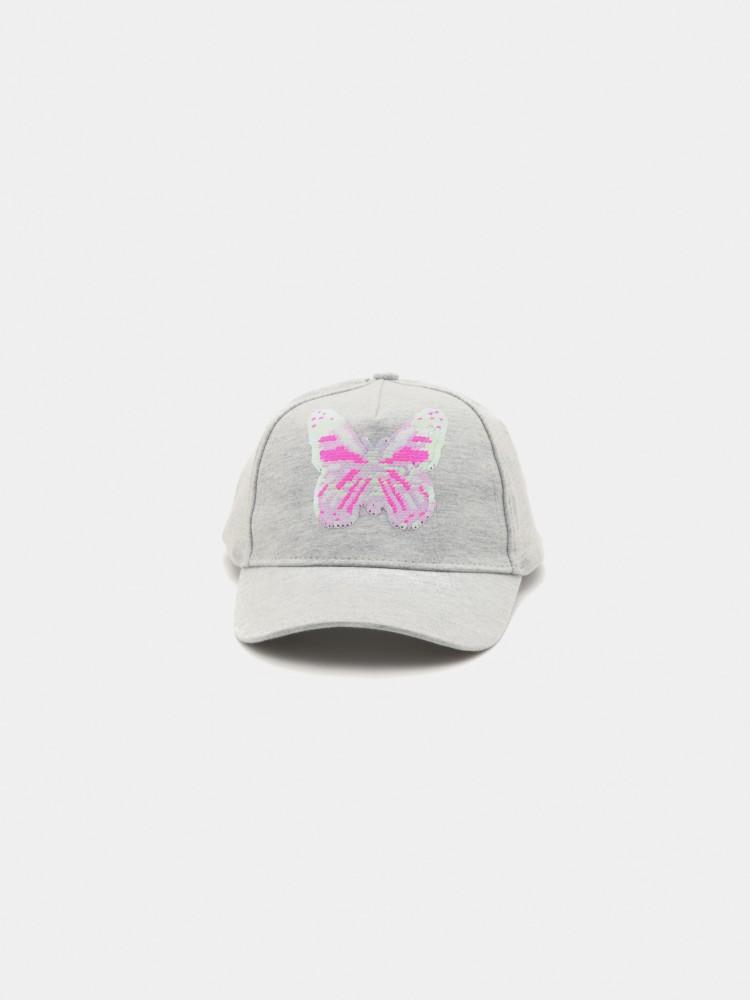 Gorra Visera Curva Bordado Mariposa | CCP