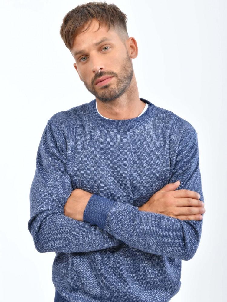 Suéter Tejido Azul | CCP