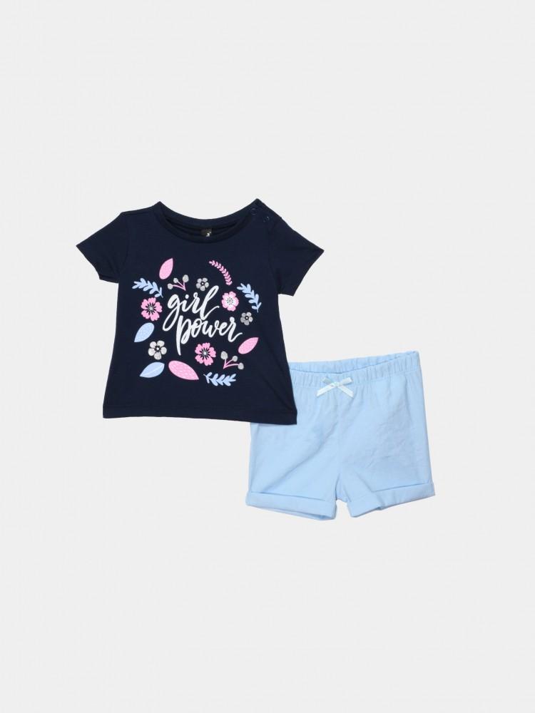 Conjunto Short Flores | CCP