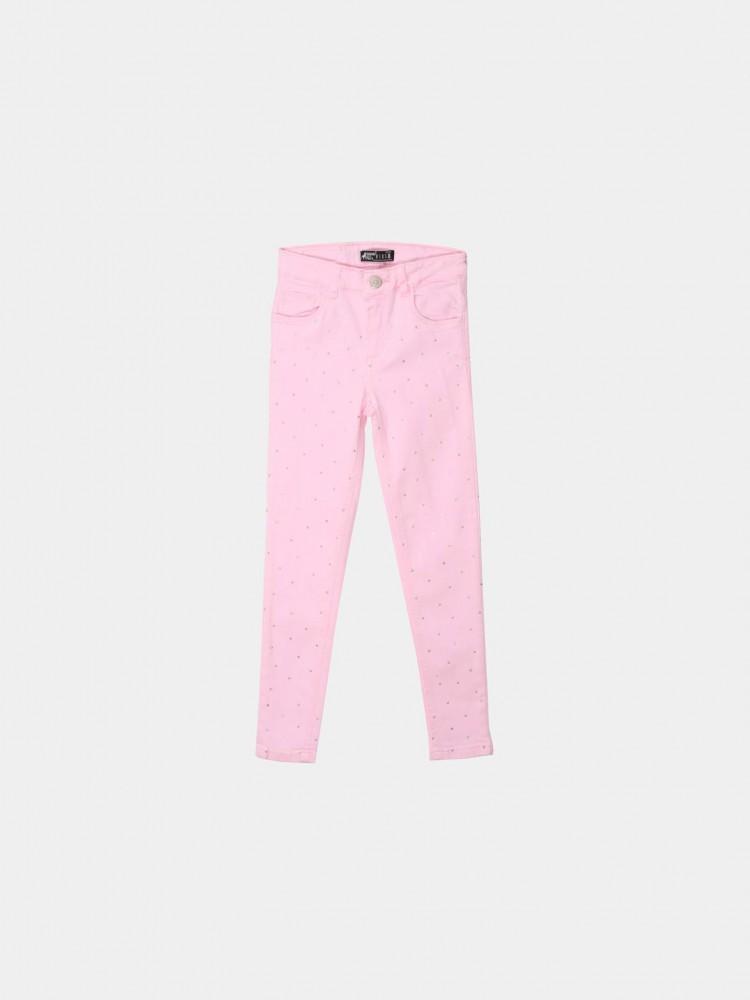 Jeans Skinny Piedras Rosa | CCP