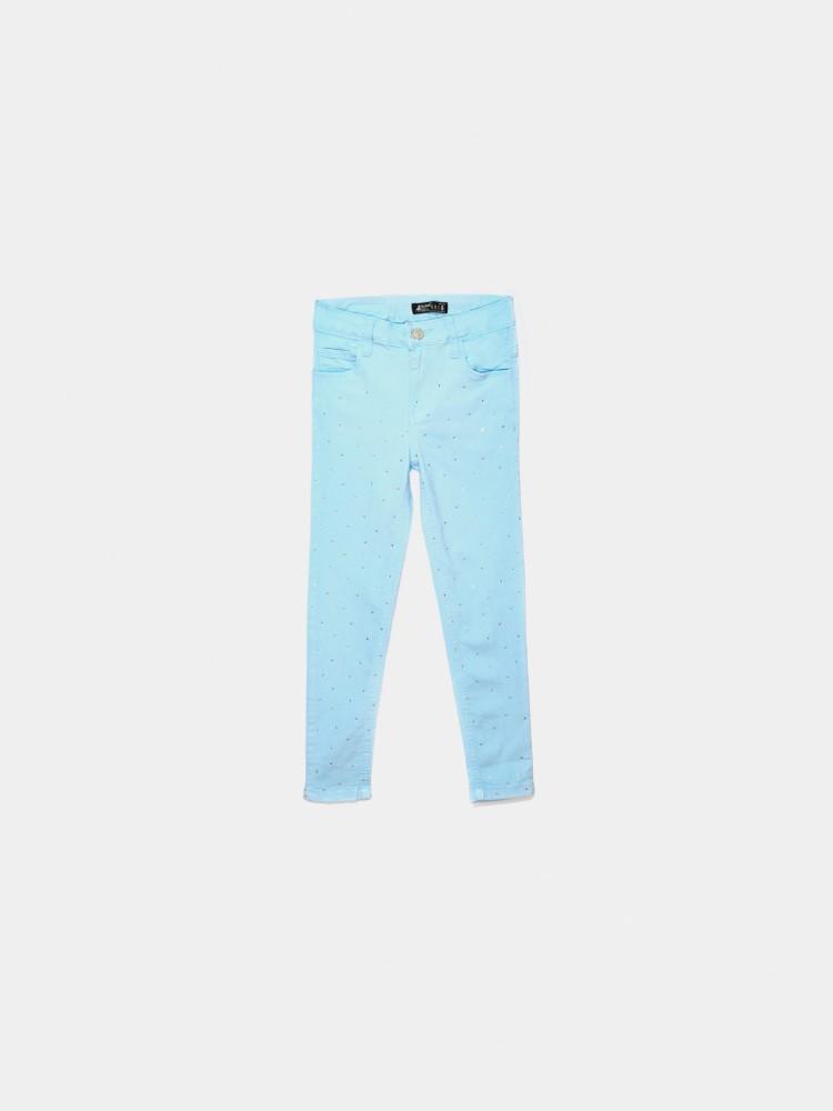 Jeans Skinny Piedras Azul | CCP