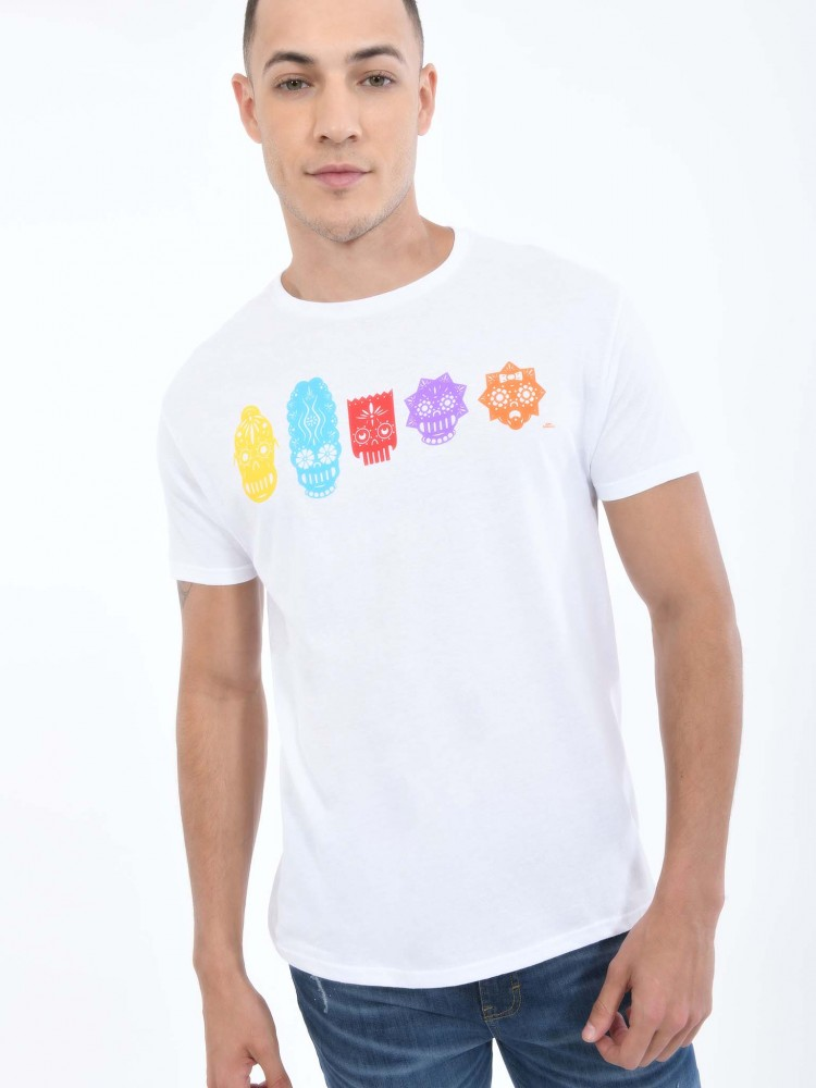 Playera Papel Picado 'The Simpsons' | CCP