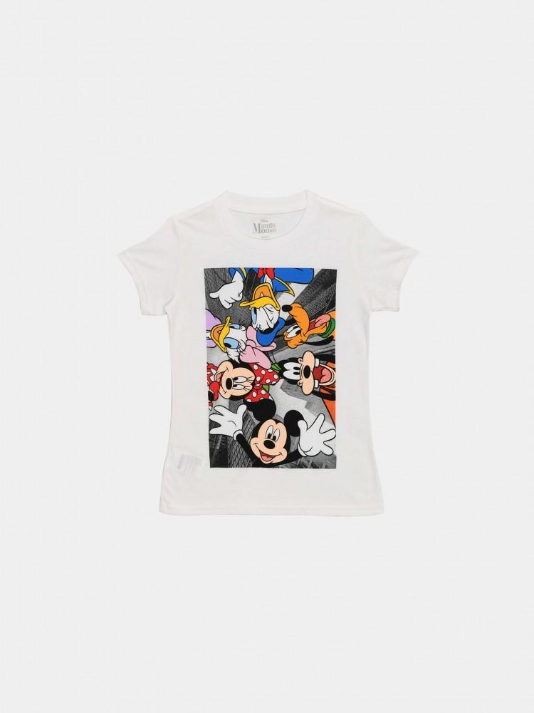 Playera Blanca 'Mickey Mouse y sus Amigos' | CCP