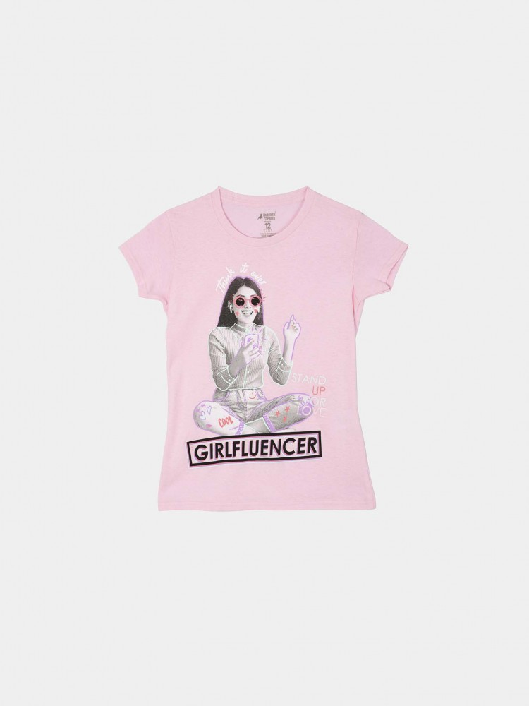 Playera Rosa 'Girlfluencer' | CCP