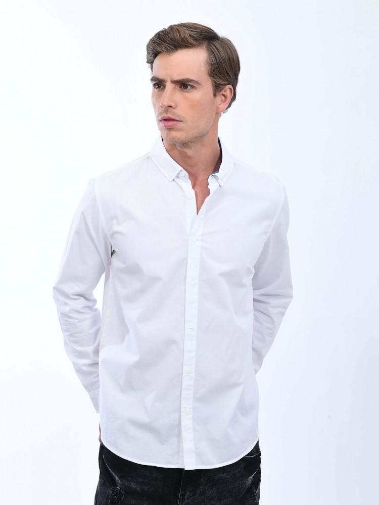 Camisa Blanca Manga Larga   CCP