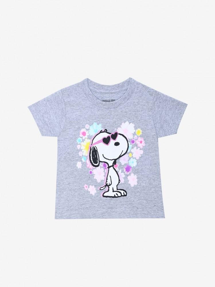 Playera Jaspe 'Snoopy Floral' | CCP