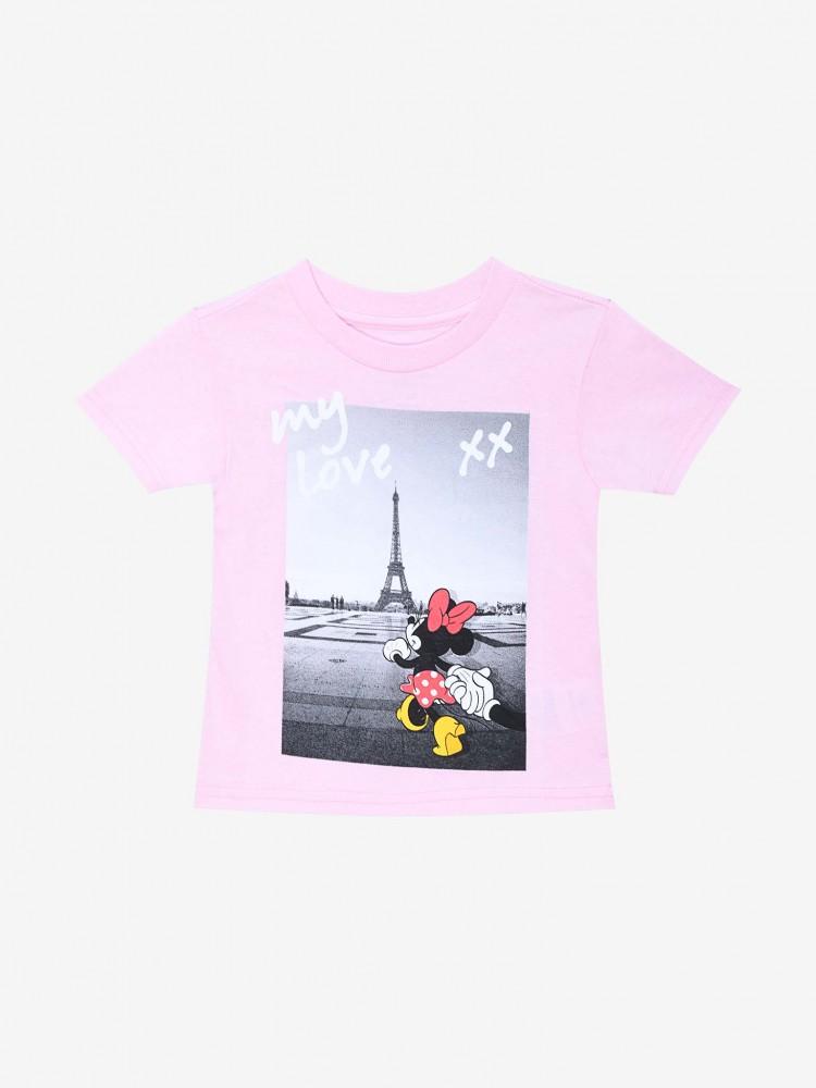 Playera Rosa 'Minnie Mouse en París' | CCP
