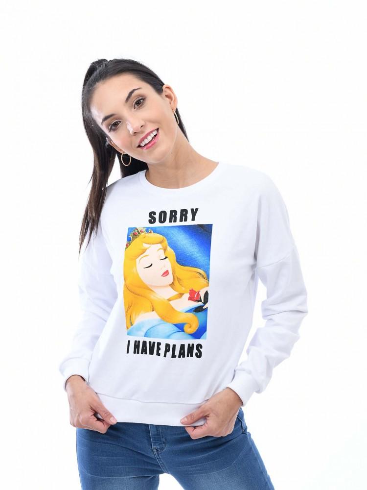 Sudadera Princesa Aurora 'Sorry I Have Plans'   CCP